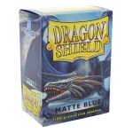 Dragon Shield - 100 Bustine - Matte Blu