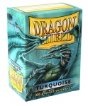 Dragon Shield - 100 Bustine - Turquoise