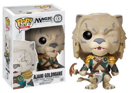 funko-pop: Funko POP - Magic - Ajani Goldmane 03