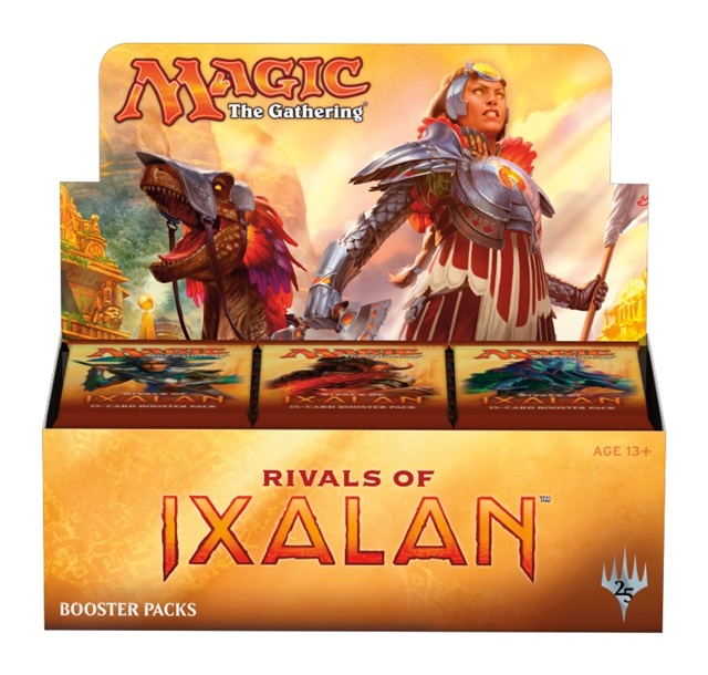 prodotti-magic-box-buste: Box Magic - Rivali di Ixalan (36 Buste)