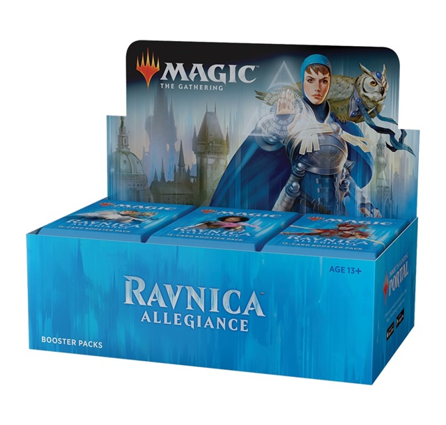 prodotti-magic-box-buste: 3x Box Magic - Fedeltà di Ravnica (36 Buste)