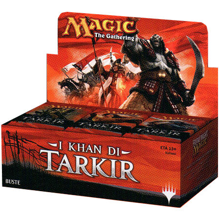prodotti-magic-box-buste: Box Magic - I Khan di Tarkir (36 buste)