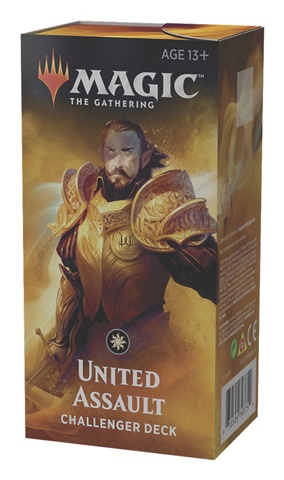 prodotti-magic-altri-mazzi-precostruiti: Challenger Deck 2019 - United Assault