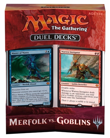 prodotti-magic-altri-mazzi-precostruiti: Duel Decks: Merfolk vs. Goblins